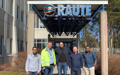 Customer story: Raute