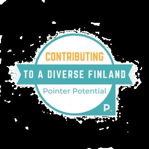 Pointer Potential Diversity Badge
